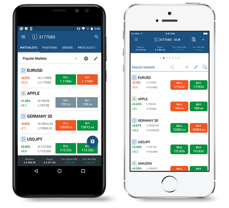 Tradeview cTrader Mobile
